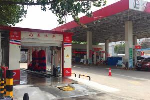 河南省开封市中石化加油站第十站安装完毕