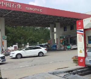 河南省开封市杞县中石化加油站调试完毕