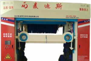 龙门往复式五刷洗车机