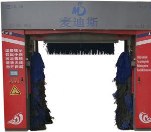 龙门往复式洗车机洗车全过程